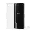utángyártott Sony Xperia Z3 Compact Ultra Slim 0.3 mm szilikon hátlap tok, átlátszó
