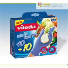 Gumikesztyű, VILEDA Multi Sensitive (50db)