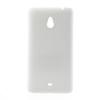 utángyártott Műanyag telefonvédő gumírozott FEHÉR [Nokia Lumia 1320]