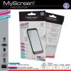 Myscreen Képernyővédő fólia törlőkendővel (2 féle típus) CRYSTAL/ANTIREFLEX [Sony Xperia C C2305]