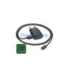 Nokia hálózati töltő adapter + microUSB kábel, 5V/1,5A, AC-60E, fekete