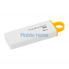 Kingston DataTraveler G4 8GB USB 3.0 pendrive, fehér-sárga