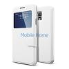 Spigen SGP Flip View Samsung Galaxy S5 Metallic White flip hátlap tok