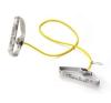 Thera-Band Erősítő gumikötél szivacsos fogantyúval 1,4 m, gyenge, sárga gyógyászati segédeszköz