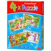 Puzzle Évszakok - 4 az 1-ben puzzle