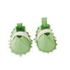 Götz babaruha - Zöld cipő filcből (42-46 cm-es babára)