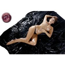 Lakk Lakk lepedő - fekete (200 x 230cm) lakástextília
