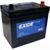 60Ah EXIDE Excell EB605 ASIA autó akkumulátor bal+