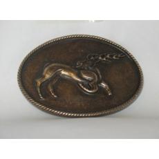 Övcsat-Csodaszarvas (bronz színű)