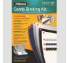 FELLOWES kezdõcsomag mûanyag spirálozáshoz, prémium, 20 dokumentum bekötéséhez spirálozó gép