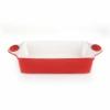 Perfect home 15809 kerámia sütőtál (kicsi), piros