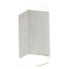 EGLO 93364 outdoor-LED-wall-lamp 2-light à 2,5W, stainless-steel