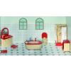 Goki Fa babaház bútor, fürdőszoba
