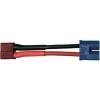 Modelcraft Modelcraft Adapterkábel T csatlakozó EC3 csatlakozódugóra 2.5 mm² 10 cm