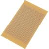 Conrad Kísérleti panel lyukraszterrel SU527696 (H x Sz) 125 mm x 73 mm Raszterméret 2.54 mm Keménypapír