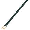Conrad Sodrott litze PVC szigeteléssel, NYFAZ/CCA, kiszerelve 3 x 0,75 mm² Fekete 10 m Conrad