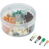 Conrad Érvéghüvely készlet, 4 mm² 16 mm² narancssárga, zöld, barna, kék, Conrad 93014c616 100 db