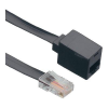 ISDN hosszabbítókábel [1x RJ45 dugó 8p4c - 1x RJ45 alj 8p4c] 10 m fekete Conrad