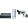Renkforce Renkforce Távfelügyeleti készlet 2 csatornás SDHC digitális felvevővel és egy 600 TVL, 4,3 mm-es CMOS színes kamerával Felbontás (sorok) 600 TVL