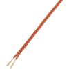 CCA ikerlitze LiY-Z, kiszerelt 2 x 0,14 mm² Piros, Fekete 10 m Conrad