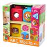 ABC kockák készségfejlesztő bébijáték