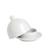 Puro mini vajtartó 9cm fehér porcelán