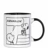 PEANUTS bögre Comic Marshmallow 9.x7.8cm