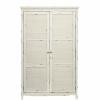 CABOTT COVE ruhás szekrény 2 ajtóval  118x55x187cm