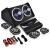 Auna 4.1 AutóHiFi szett Black Line 520, erősítő, hangfalak, subw.