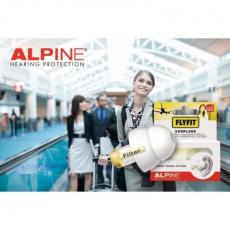 Alpine Hearing Protection Alpine FlyFit - Szűrős füldugó utazáshoz