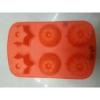 Szilikon sütőforma, pici süti mintával, 6db-os