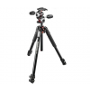 Manfrotto 055 alu 3-sect horiz column + 3 way head