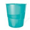 Leitz Papírkosár, 15 liter, LEITZ Wow, jégkék (E52781051)