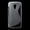 utángyártott Telefonvédő gumi / szilikon (S-line) ÁTLÁTSZÓ [Motorola Moto G2 (XT1063)]