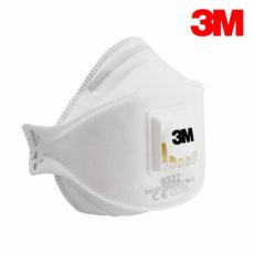 3M összehajtható szelepes FFP2-es maszk