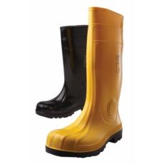 Eurofort S5 PVC/nitril, acélkaplis biztonsági rugalmas csizma - sárga