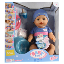 Baby Born: 8 funkciós interaktív baba - fiú játékfigura