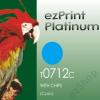 Platinum T0712 C chippes tintapatron (utángyártott)