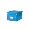 """Leitz Irattároló doboz, A5, lakkfényű, LEITZ """"Click&Sto"""