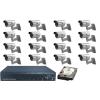 SANAN 16 kamerás SANAN prémium térfigyelő rendszer