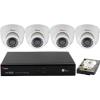 SANAN 4 dome kamerás SANAN térfigyelő rendszer