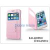 Kalaideng Apple iPhone 6 Plus flipes tok - Kalaideng Iceland 2 Series View Cover - pink