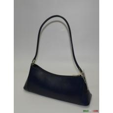 Kék kisméretű egyvállas táska