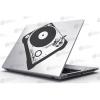 KaticaMatrica.hu Laptop Matrica - Lemezjátszó