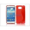 Haffner Samsung SM-G850 Galaxy Alpha szilikon hátlap - S-Line - piros