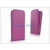 Haffner Slim Flexi Flip bőrtok - Apple iPhone 6 - lila