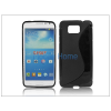 Haffner Samsung SM-G850 Galaxy Alpha szilikon hátlap - S-Line - fekete