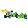 Rolly Toys Rolly Kiddy Futura pedálos markolós traktor utánfutóval