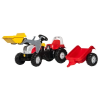 Rolly Toys Rolly Kid Steyr 6160 CVT pedálos markolós traktor utánfutóval