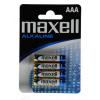 Maxell LR03*4 alkáli mikro ceruza elem